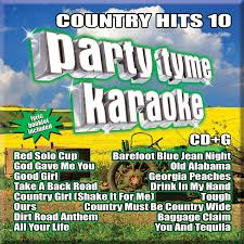 Party Tyme Karaoke Christmas Pack - country hits 10 party tyme karaoke