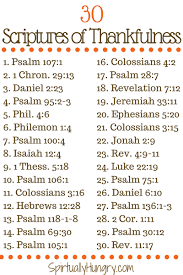 november challenge 30 days of thanks daily scripture readings