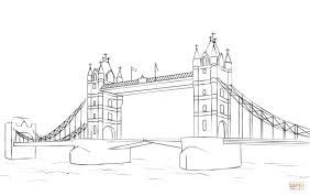 tower bridge clipart drawn pencil and in color tower bridge