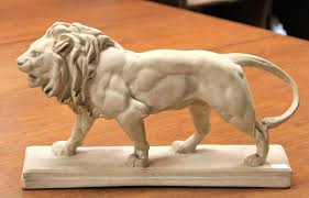 barye lion sculpture found in ithaca plaster lion signed barye sold