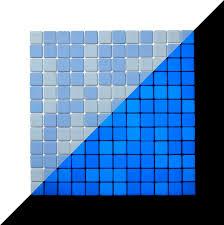 Glow In The Dark Home Decor Lucedentro Ocean Blue Italian Glow In The Dark Glass Mosaic Tiles