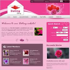 Free Dating Site Templates dating free website templates for free about 14 free