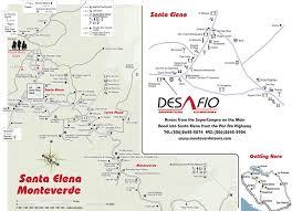 Plano Map Santa Elena Costa Rica Is It Different Than Monteverde U2013 Costa