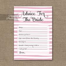 Marriage Advice Cards For Wedding Bridal Advice Nifty Printables
