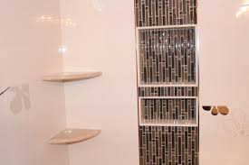 recessed shower shelf bed bath and beyond med art home design