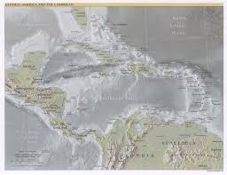 Central America And The Caribbean Map by Caribbean Maps Domnik Net