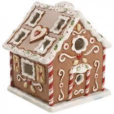 villeroy boch winter bakery decoration gingerbread house 4 25 in