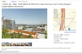 a week of mining seattle u0027s craigslist apartment pricing hi i u0027m jay