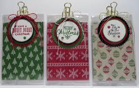 lynn u0027s locker stampin u0027 up christmas treat product holder gift bag