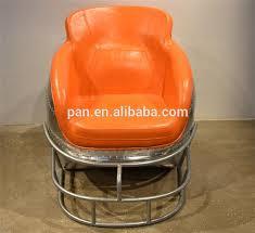 Helmet Chair American Style Molded Fiberglass Football Helmet Leather Lounge