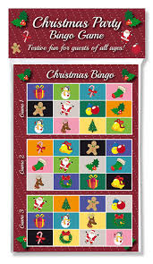 christmas party bingo game fun u0026 games for family office and