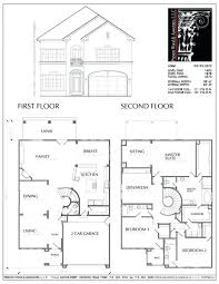 house plans with simple two story house plans 2 storey house plans with blueprint
