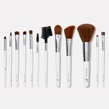 professional complete set of 12 brushes e l f cosmetics