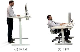 Smart Office Desk A Standing Desk That Is Smart And Affordable