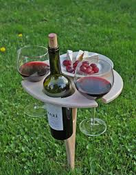 outdoor wine glass holder table outdoor wine table portable table wines and summer