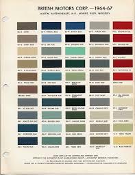 image result for vintage car color chart color palettes