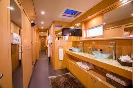 Master Bathroom Luxury Yacht Charter Sailing Catamaran Windquest Catamaran