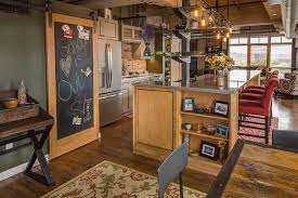 How To Make A Barn Door Track 25 Trendy Kitchens That Unleash The Allure Of Sliding Barn Doors