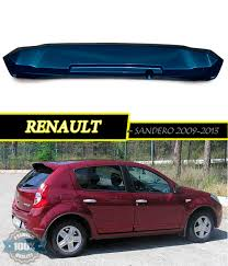 renault sandero 2011 spoiler aerodynamic for renault sandero renault sandero stepway