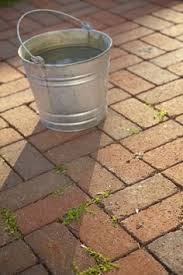How To Remove Weeds From Patio You Might Want To Grab Some Patio Sand At Home Depot When You See