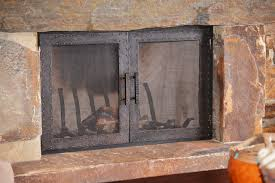 ideas of custom fireplace doors u2014 john robinson house decor