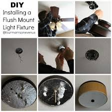 how to install flush mount light four marrs and one venus light fixture for boys bedroom