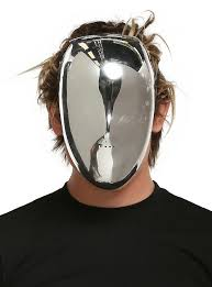 silver mask silver no mask hot topic