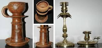 Unique Handmade Lamps An Antique Unique Handmade Ceramic Table Oil Lamp C 1810 U0027s And