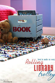 How To Make A Easy Toy Box by 104 Best Ideas For Storing Children U0027s Books Images On Pinterest