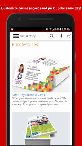 Office Max Business Card Template Office Depot Rewards U0026 Deals On Office Supplies Android Apps