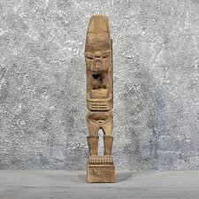 tribal wood carving for sale 11589 the taxidermy store