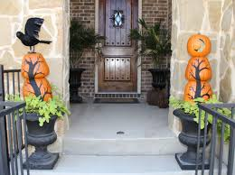 Halloween Decor Home by Stacked Pumpkin Topiaries Home Savvy