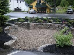 ideas gravel patio smooth pea gravel edging for gravel driveways