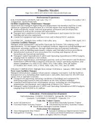 Program Manager Resumes 100 Resume Examples Management Resume Change Management