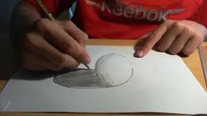 drawing anamorphic 3d spheres like sidewalk 3d art tutorial