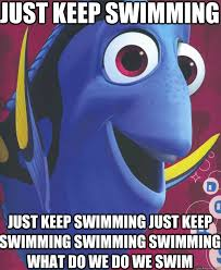 Swimming Memes Funny - 20 just keep swimming memes to motivate you sayingimages com