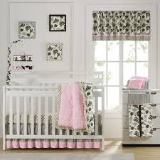 laugh giggle u0026 smile versailles pink 10 piece crib bedding set