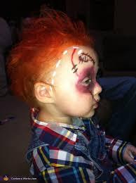 Toddler Chucky Halloween Costume Chucky Doll Baby Halloween Costume Photo 3 3