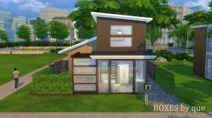 mod the sims four little boxes bg no cc