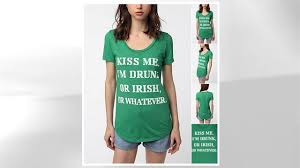 urban outfitters draws scorn with st patrick u0027s day products abc