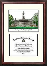 virginia tech diploma frame penn state nittany lions framed scholar diploma frame