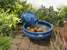 beautiful fountain for garden better homes and gardens river rock
