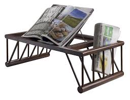 Bed Table Online Shopping In India Amazon Com Winsome Cambridge Lap And Bed Desk Home U0026 Kitchen