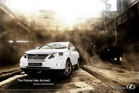 lexus rx advert dieselstation car forums u003e lexus rx450h ad mockup