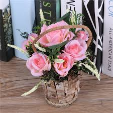 Fake Flower Centerpieces by Compare Prices On Artificial Flower Basket Arrangements Online