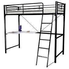 bureau pour lit mezzanine lit mezzanine en 90 avec tablette d angle achat vente lit