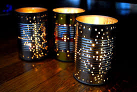 How To Decorate A Tin How To Recycle A Tin Can Into A Gorgeous Outdoor Lantern For