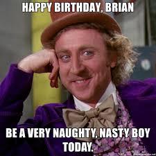 Naughty Birthday Memes - nasty happy birthday images