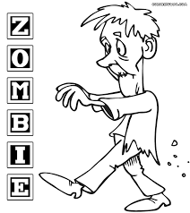 zombie coloring pages coloring pages to download and print