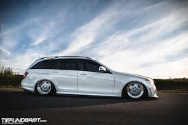 bagged mercedes cls tief u0026 breit class act u2013 david u0027s w204 wagon